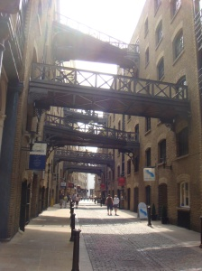 London's Shad Thames area, near Design Museum.