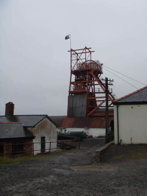 The Big Pit at Blenaefon wasn't always a museum, giving up its last pebbles of coal in the 1980s.