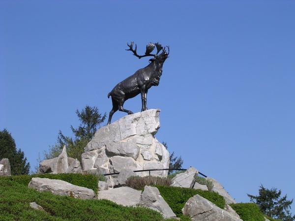 Newfoundlanders monument at Beaumont-Hamel, Somme