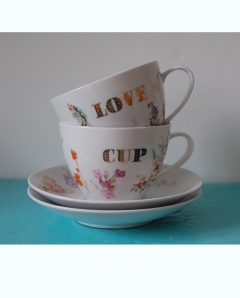 LOVE teacup by McCheek